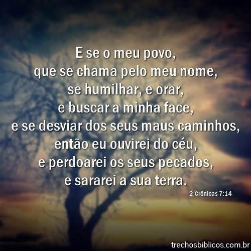 2 Crônicas 7:14 8