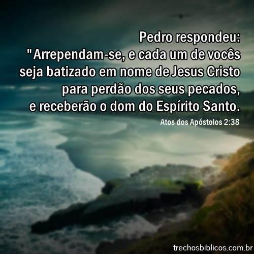 Atos dos Apóstolos 2:38 10