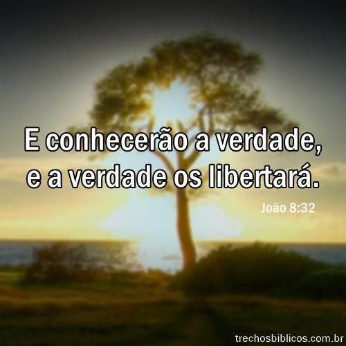 João 8:32 9