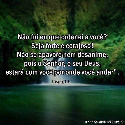 Josué 1:9 3