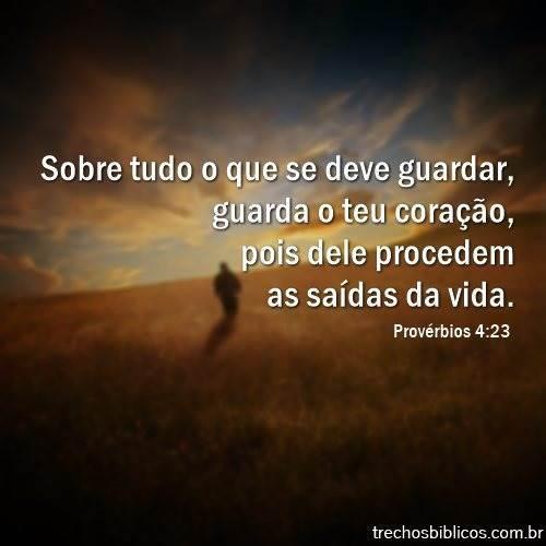 Provérbios 4:23 8