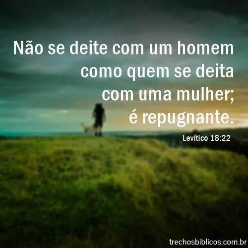 Levítico 18:22 5