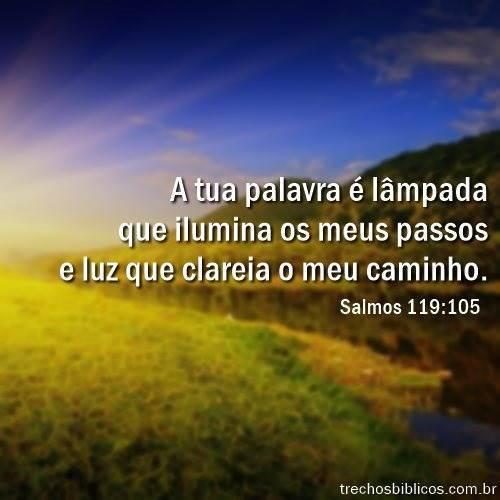 Salmos 119:105 12