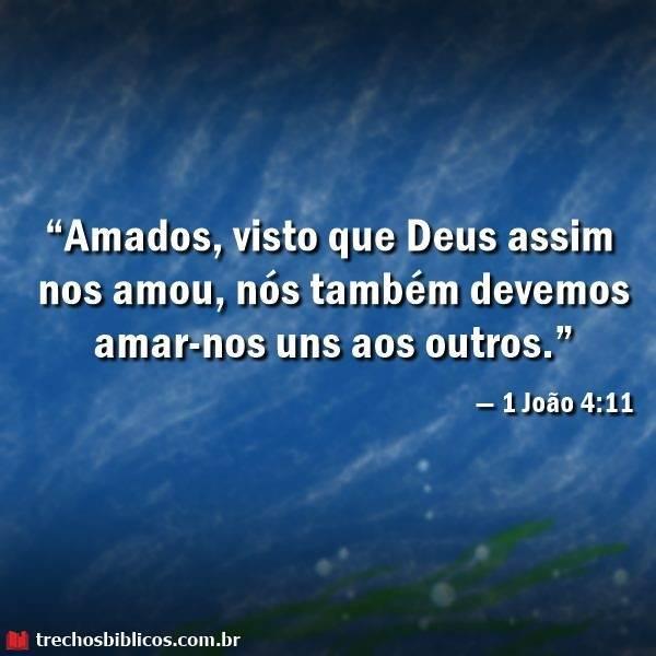 — 1 João 4-11