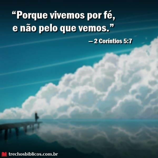 2 Coríntios 5:7 12