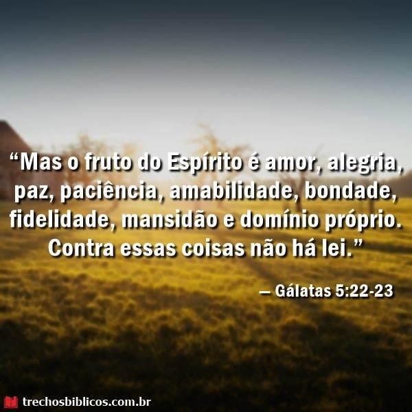 Gálatas 5:22-23 24