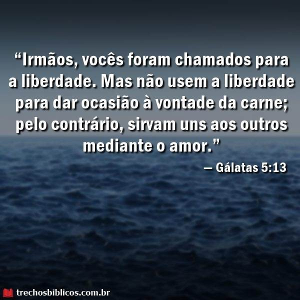 Gálatas 5:13 7
