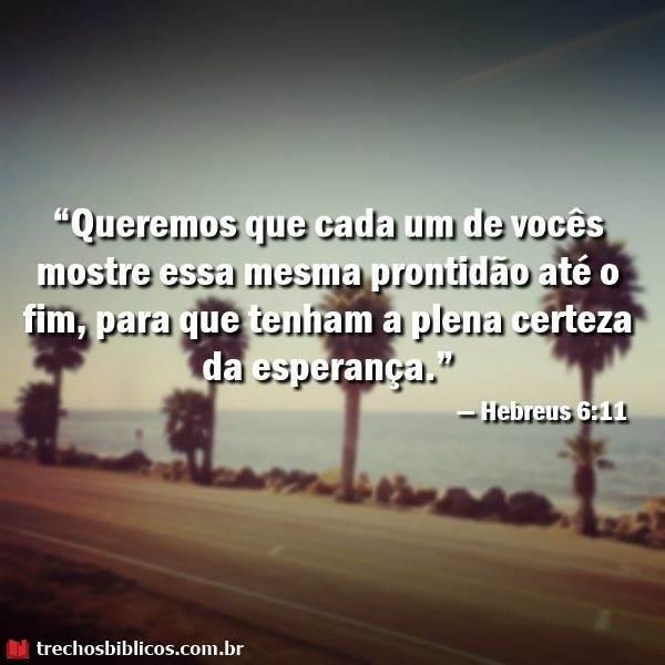 Hebreus 6:11 13