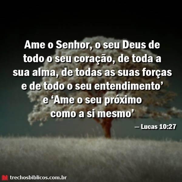 — Lucas 10-27