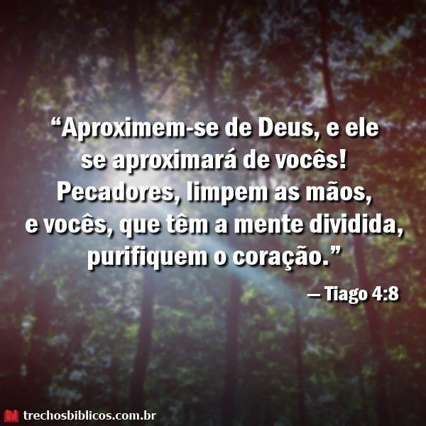 Tiago 4:8 10
