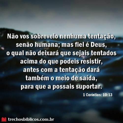 1 Coríntios 10:13 4