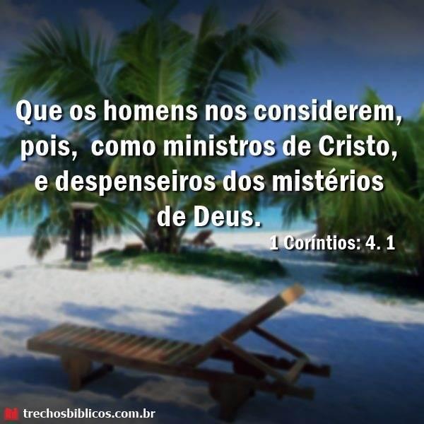 1 Coríntios 4:1 8