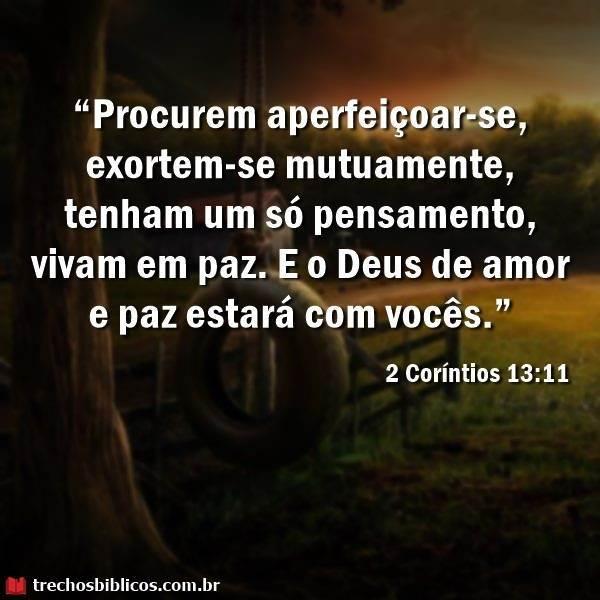 2 Coríntios 13:11 13