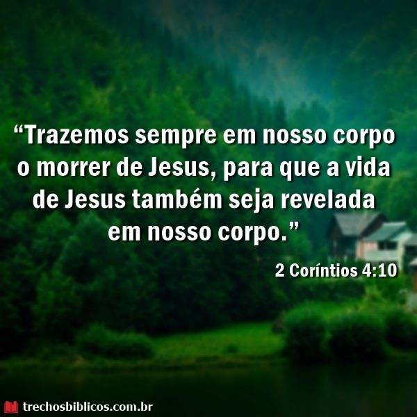 2 Coríntios 4:10 5