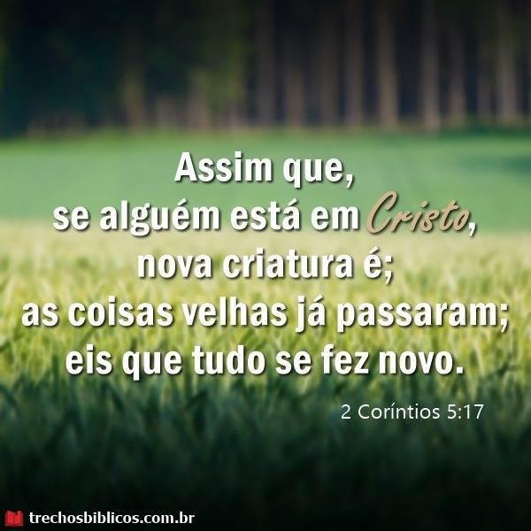 2 Coríntios 5:17 11