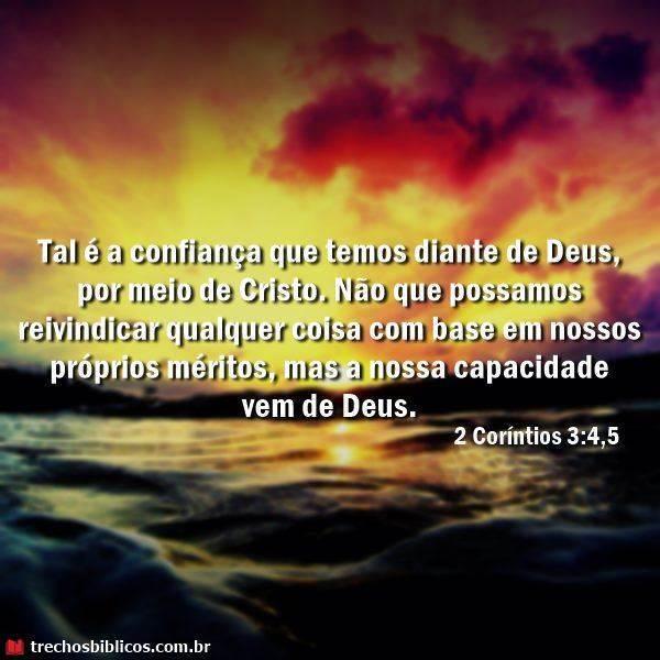 2 Corintios 3:4,5 8
