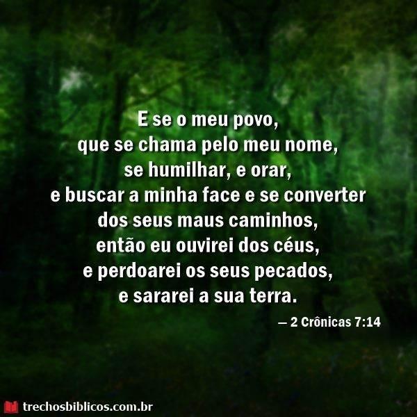 2 Crônicas 7:14 7