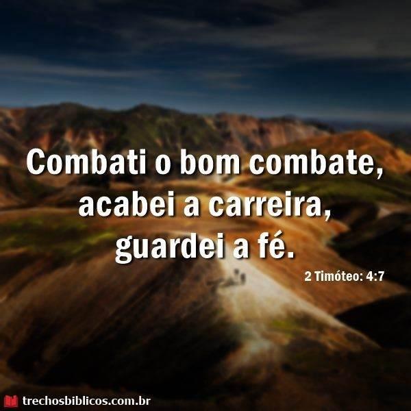 2 Timóteo 4:7 7
