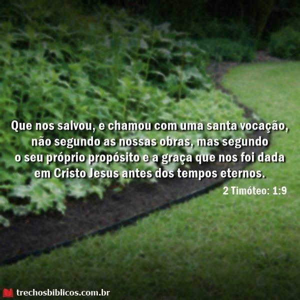2 Timóteo 1:9 16