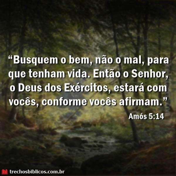 Amós 5:14 13