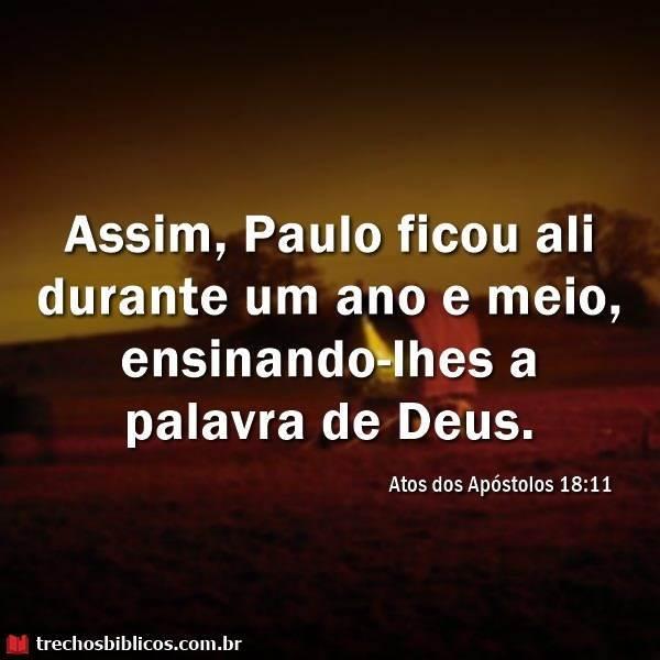 Atos 18:11 16