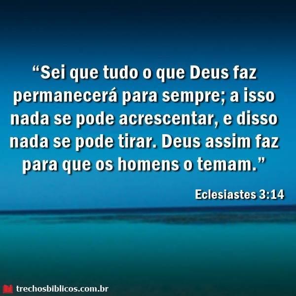 Amado Eclesiastes 3:14 – Versículos ZZ45