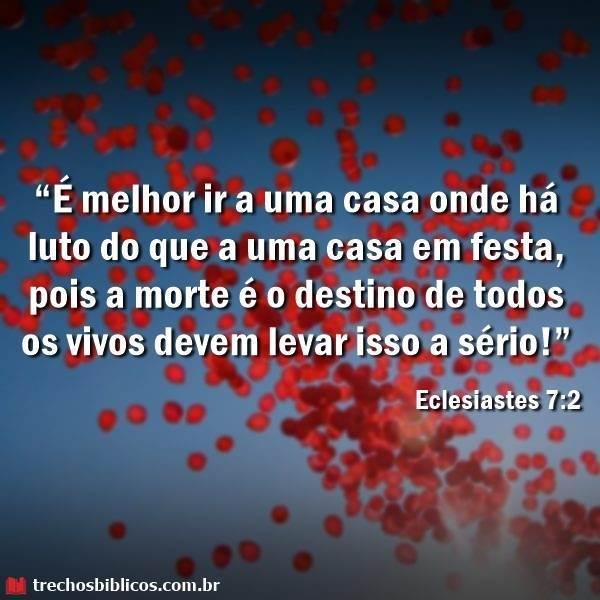 Eclesiastes 7:2 16