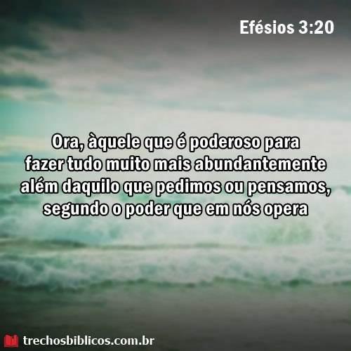 Efésios 3:20 7