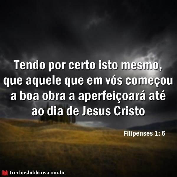 Filipenses 1:6 8