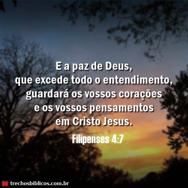 Filipenses 4:7 11