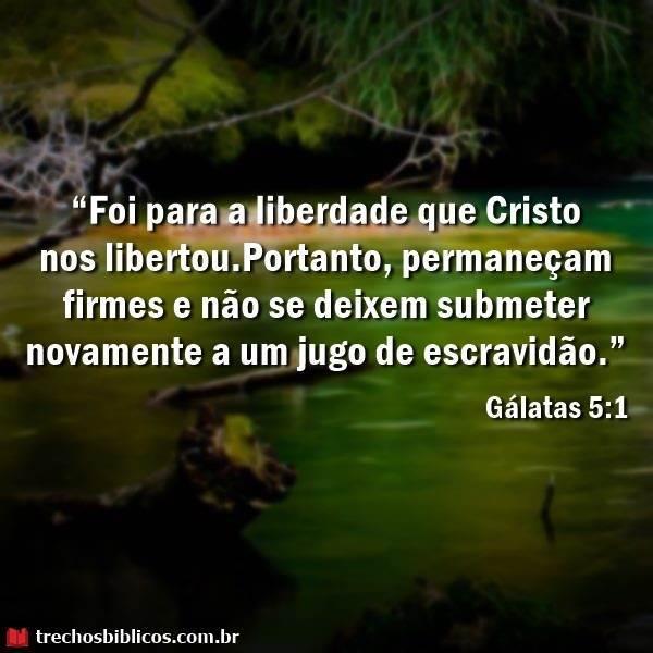 Gálatas 5:1 3