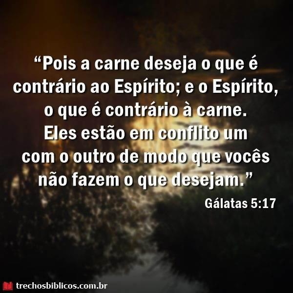 Gálatas 5:17 9