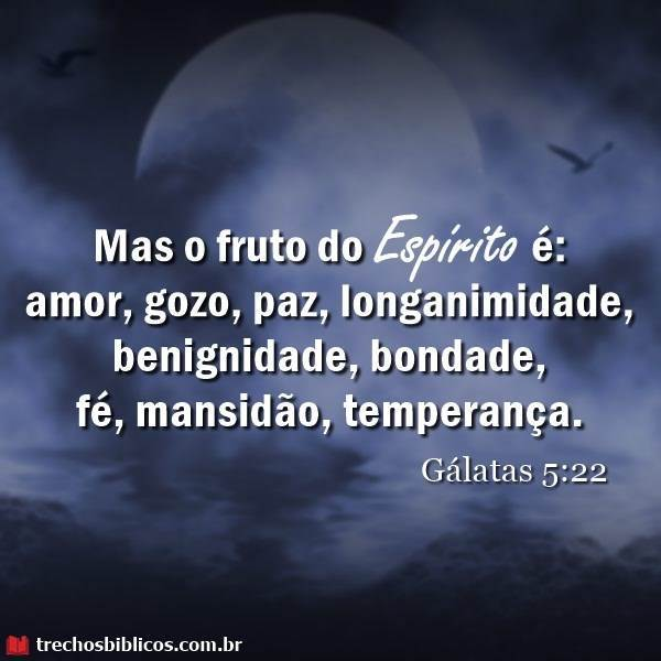 Gálatas 5:22 23