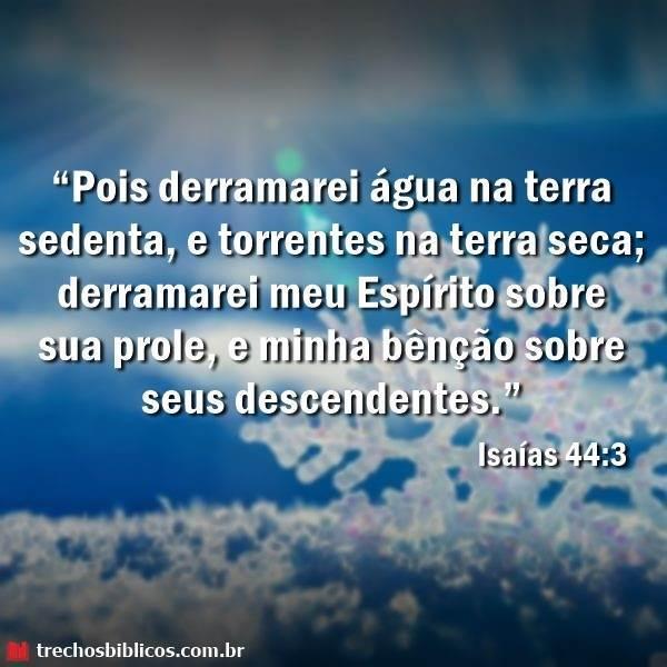 Isaías 44:3 11