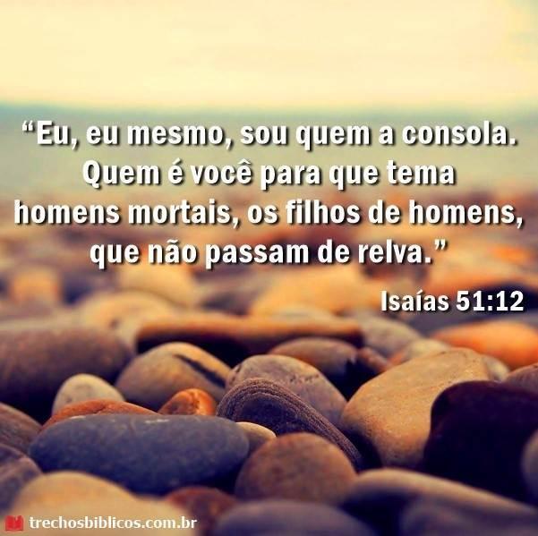 Isaías 51:12 14