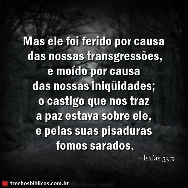 Isaías 53:5 18