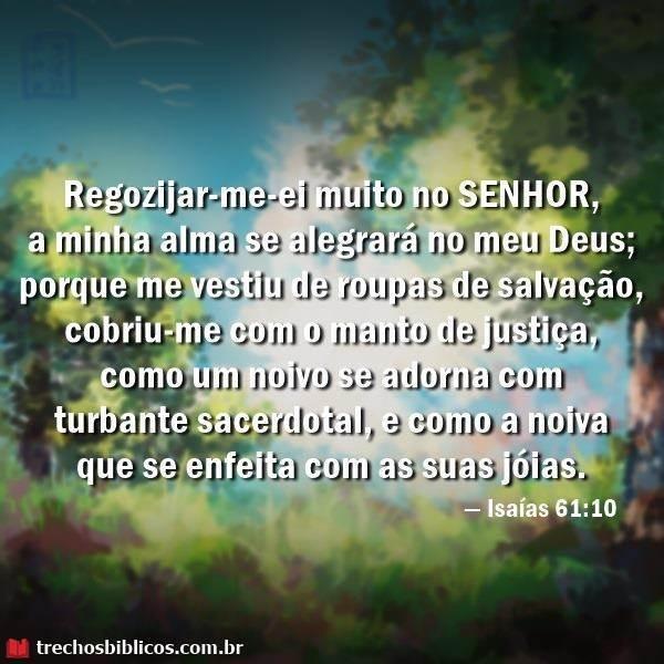 Isaías 61:10 16