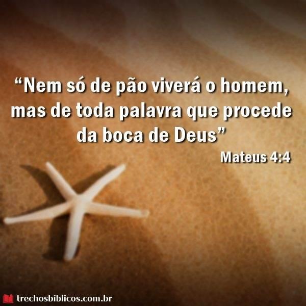 Mateus 4:4 13