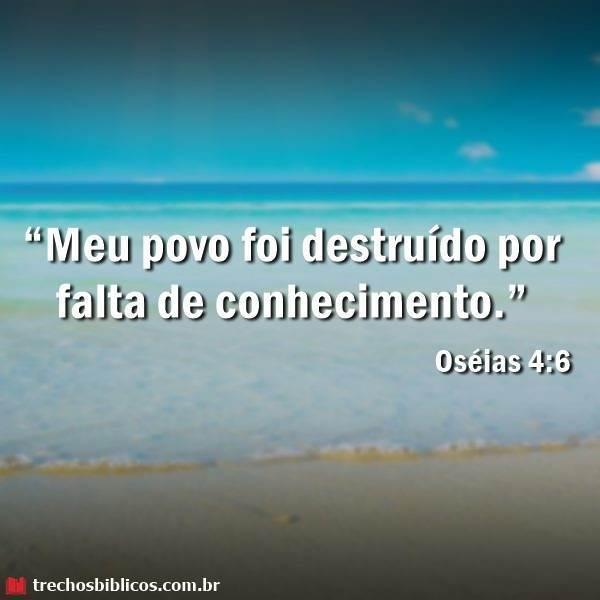 Oséias 4:6 10
