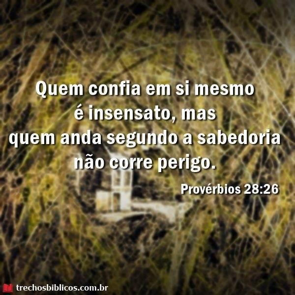 Provérbios 28-26