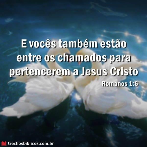 Romanos 1:6 7