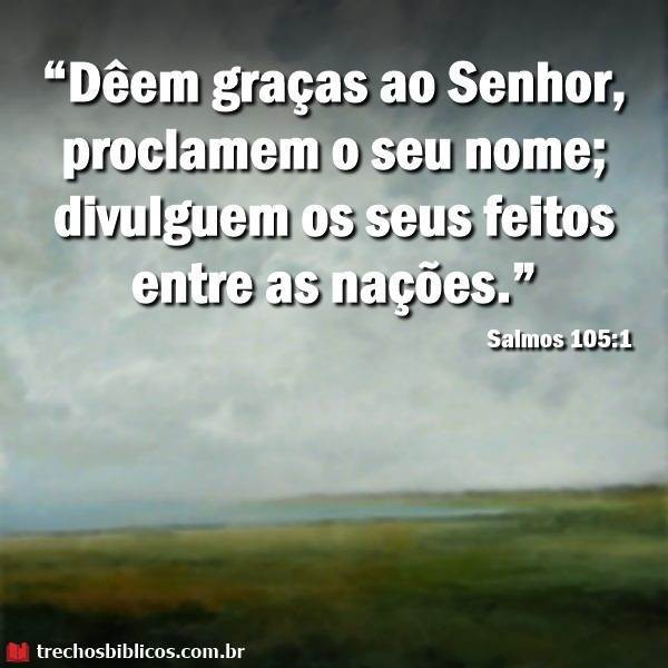 Salmos 105:1 19