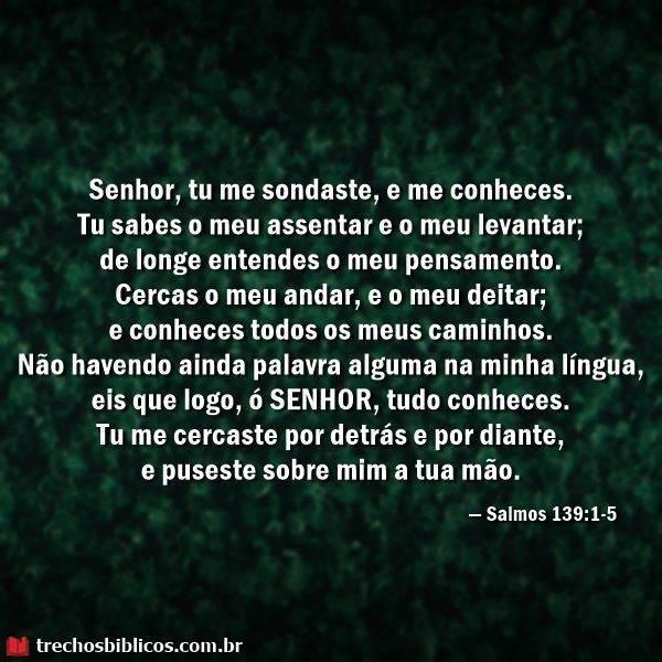 Salmos 139:1-5 3
