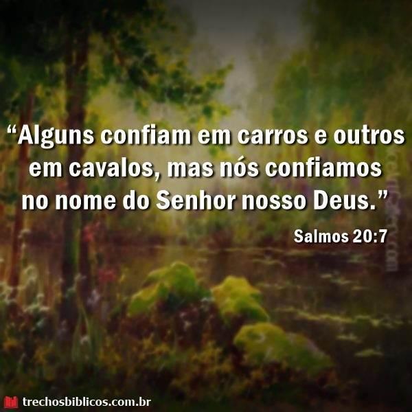 Salmos 20:7 10
