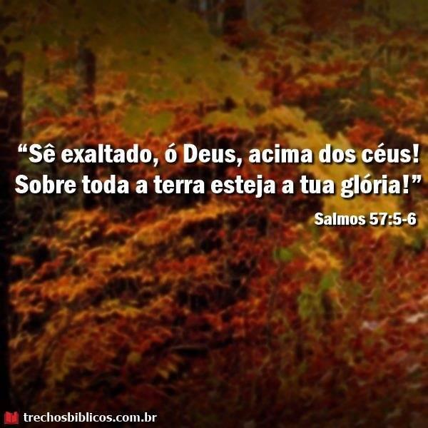 Salmos 57:5-6 10