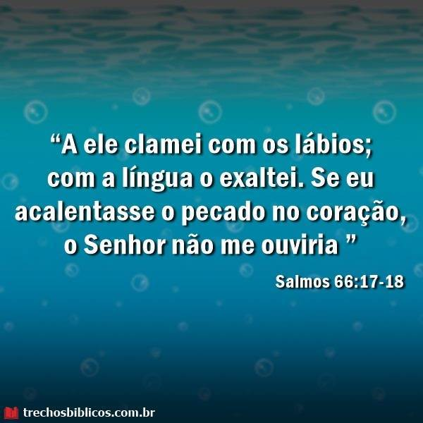 Salmos 66:17-18 5