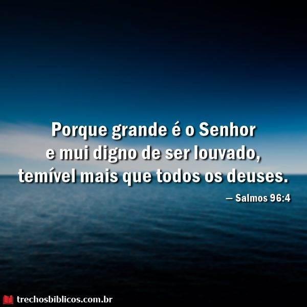 Salmos 96:4 5