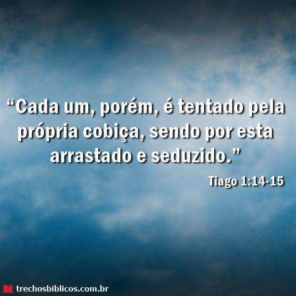 Tiago 1:14-15 8
