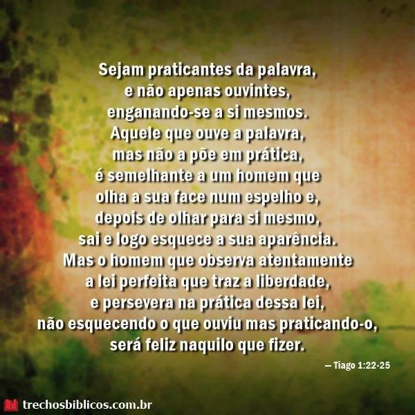 Tiago 1:22-25 11
