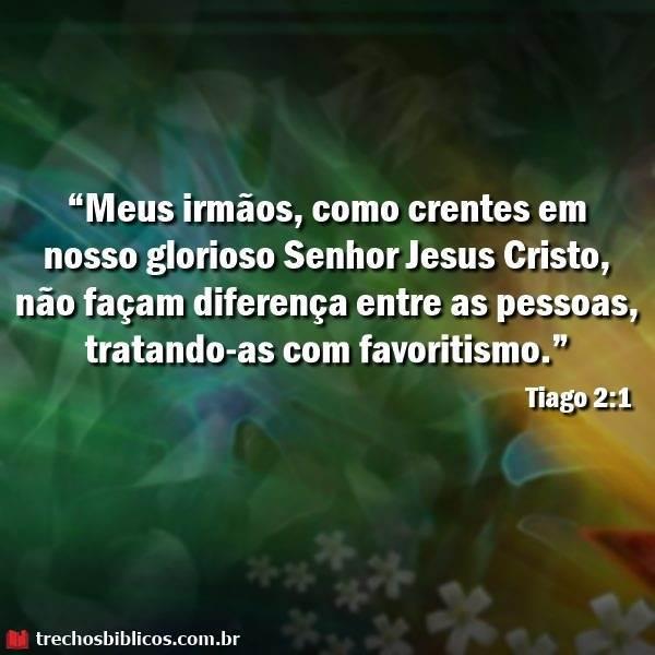 Tiago 2:1 13